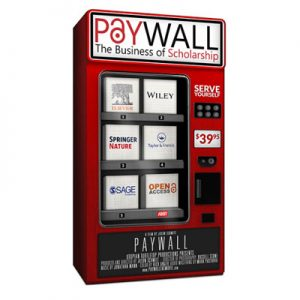 Interactive movie screening of Paywall: The Business of Open Scholarship