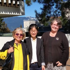 Alumna Weimei Pan successfully defends her Dissertation