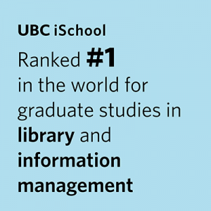 ubc ischool ranked 1 in the world